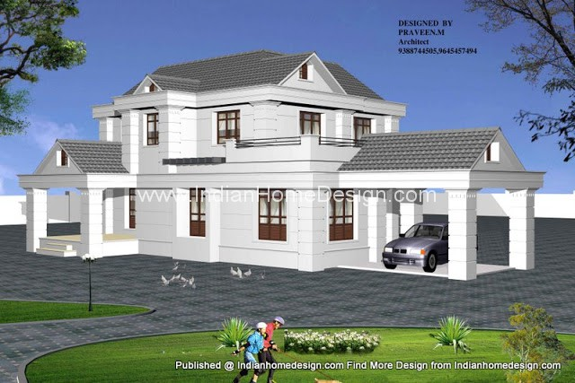 House plans photos kerala 3d view of kerala house 3d view home design