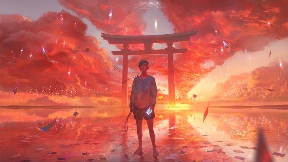Paul Nong artfulbeast artstation deviantart arte ilustrações fantasia ficção surrealismo
