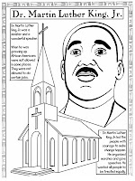 Martin Luther King Jr Coloring Pictures