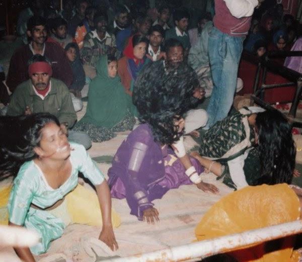 evil spirits at balaji