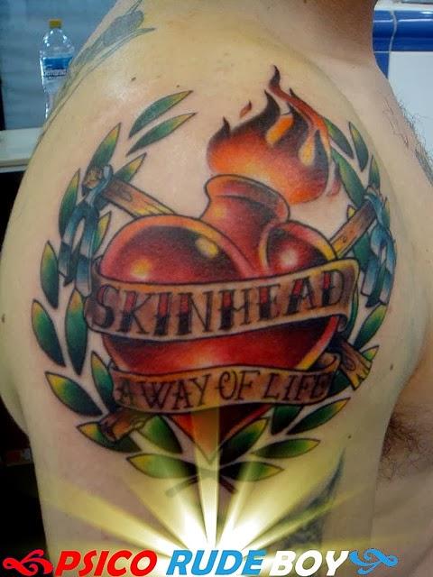 skinhead tattoos