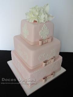 bolo de casamento classico doces opções bragança