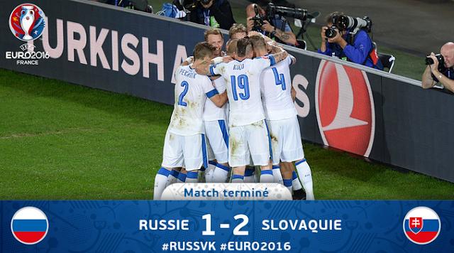 FT: RUSIA 1-2 SLOVAKIA