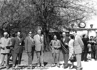 Congres Katholieke Werkgevers, mijn vader derde van links