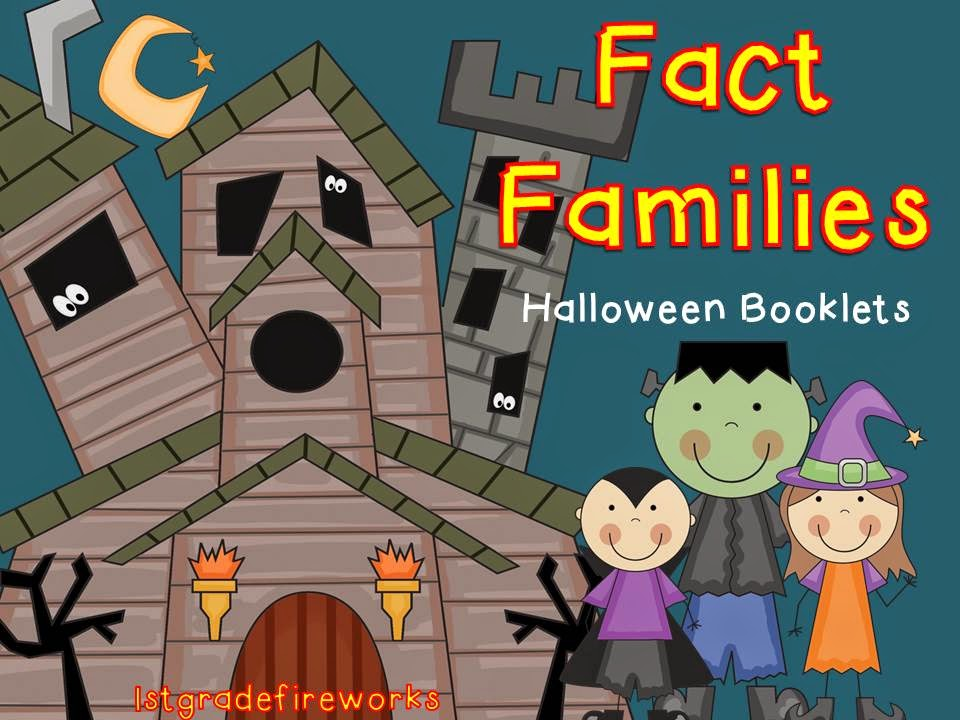 Halloween Fact families Booklets