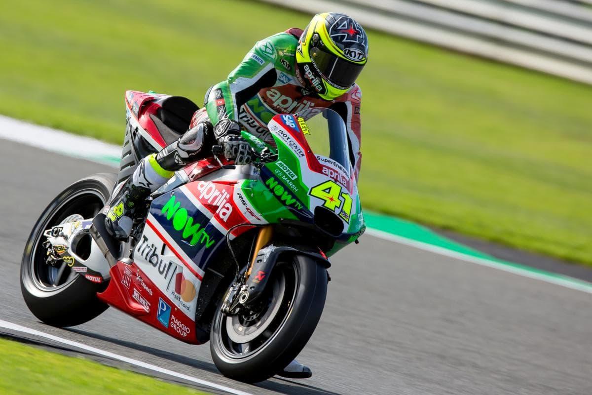 MotoGP 2017 : Gunakan aero fairing baru, tim pabrikan Aprilia optimis di Misano