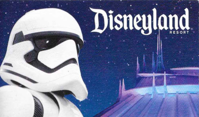 stormtrooper space mountain ticket disneyland