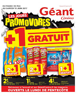 Catalogue Géant Casino 30 Mai au 10 Juin 2017