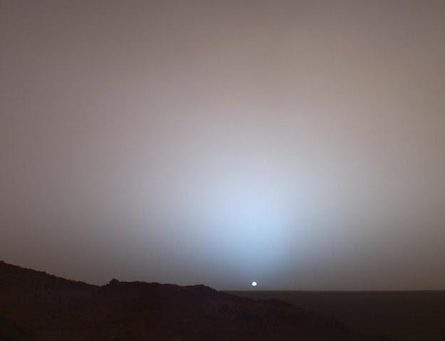 Matahari dilihat dari Mars