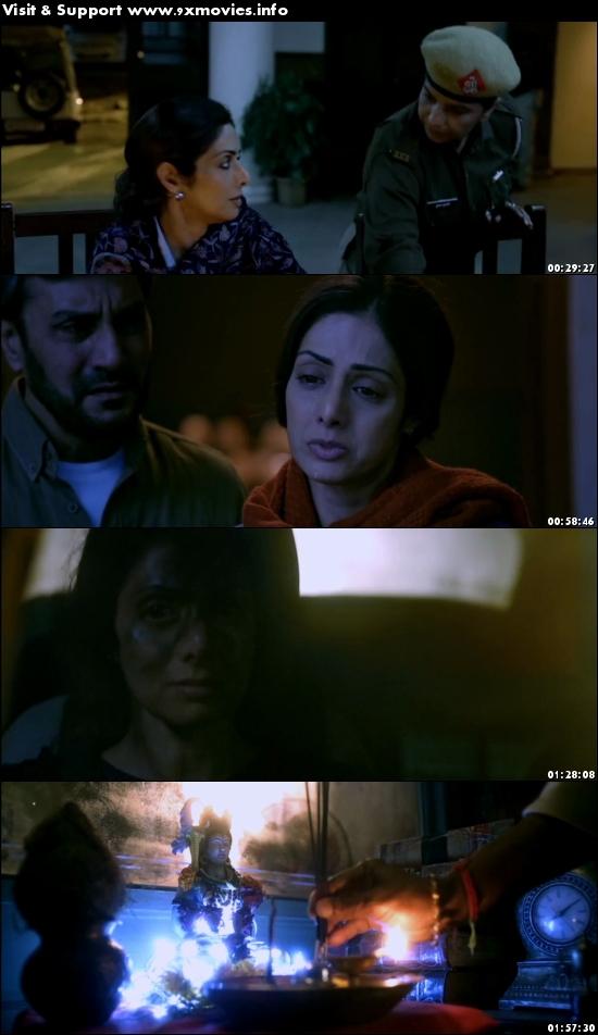 Mom 2017 Hindi 720p DVDRip 1GB