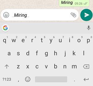 tapi bagi yang belum tahu trik nya ya sama saja masih terbilang sulit Cara Edit Tulisan di Whatsapp dengan Praktis
