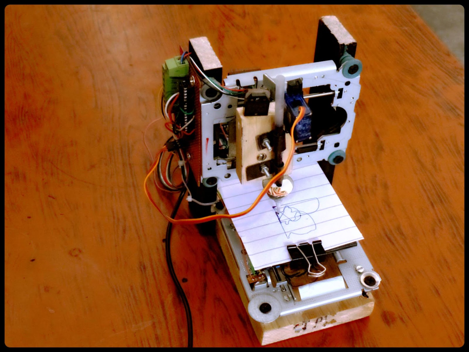 Sam Technology Professionals: Mini CNC XY plotter Prototype (Project