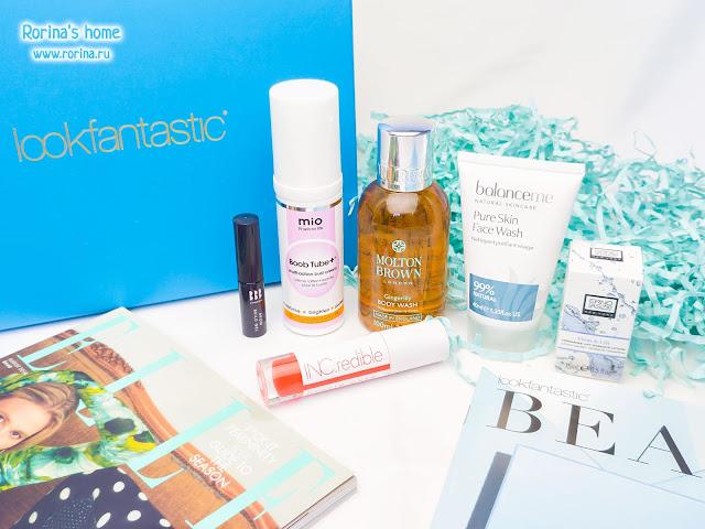Lookfantastic Beauty Box August 2018: отзывы и наполнение