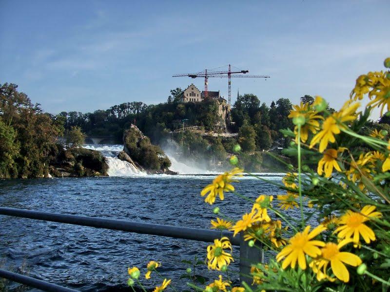 CĂLĂTORII: Cascada Rinului ( Rheinfall )