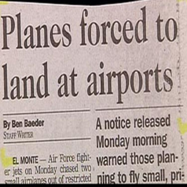 Planes Forced To Land At Airports