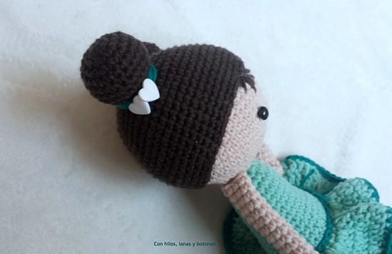 Con hilos, lanas y botones: Chloe amigurumi doll