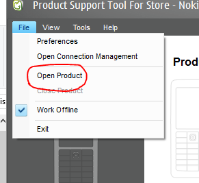 File Open Product
