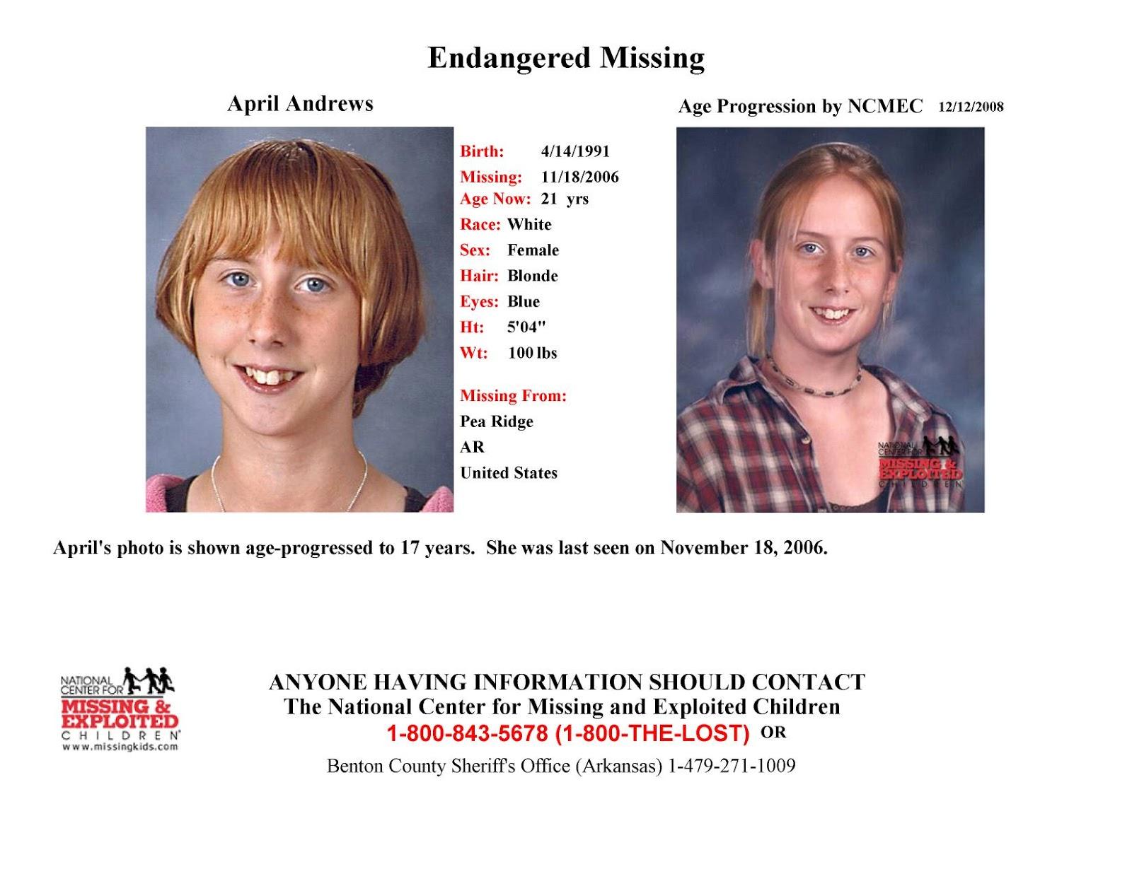 Cold Case: Missing teen still missing from Arkansas 9 years