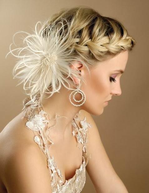 medium short hairstyles bridesmaid