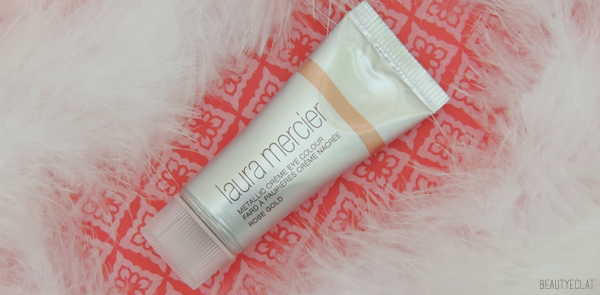 revue avis test laura mercier metallic creme eye colour