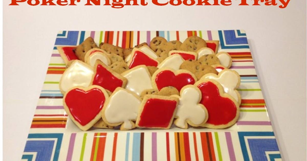 Sugar Baby Bakes Poker Night Cookie Tray