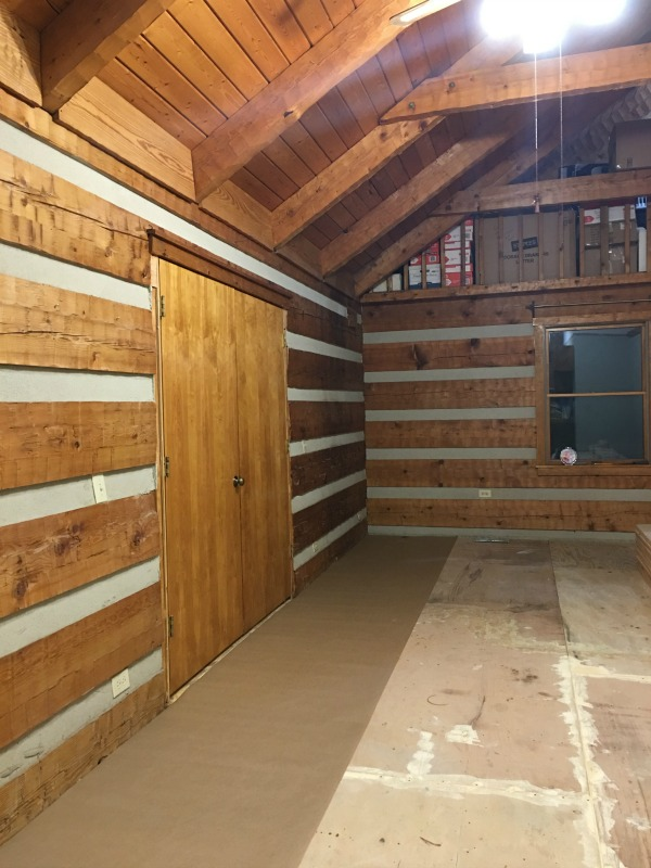 DIY Wide Plank Pine Floors | Hood Creek Log Cabin