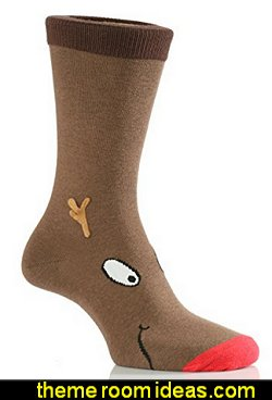 Christmas Rudolph Novelty Socks