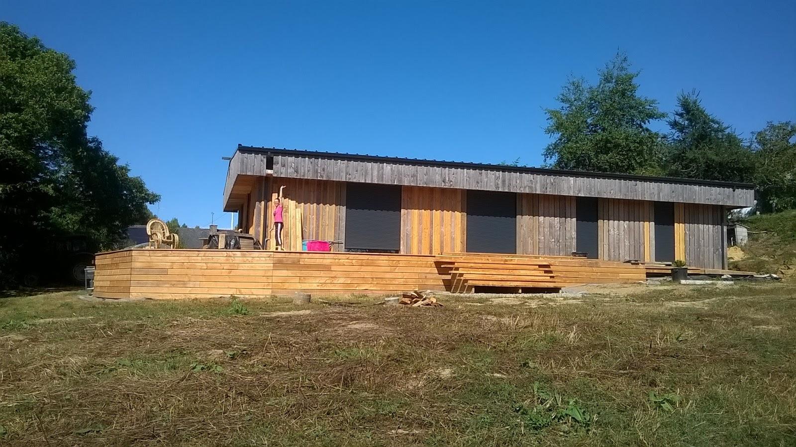 Ty plouz l 39 histoire de l 39 autoconstruction de notre maison en paille - Maison en paille porteuse ...