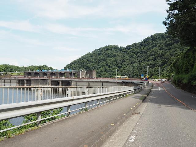国道413号 城山ダム