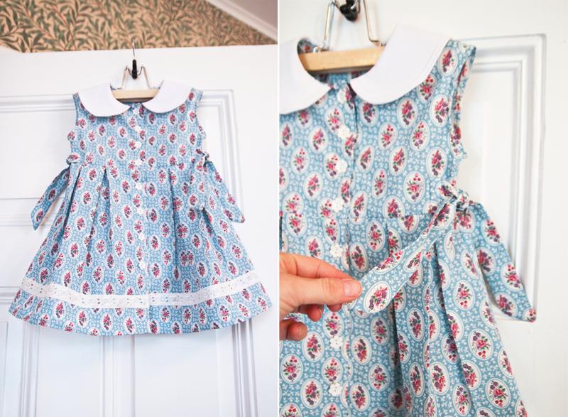 sy klänning av skjorta