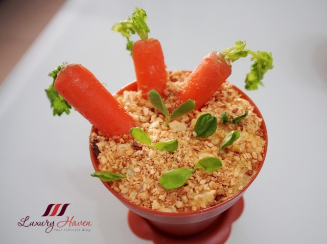 purelyfresh edible carrots potted plant salad recipe