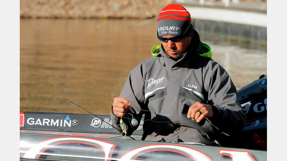Ibassin jason christie 39 s old school approach talk of the for Jason christie fishing