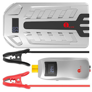 Silver 1byone Car Battery Booster Pack