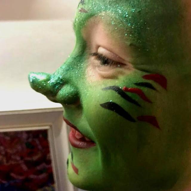 goblin face paint snazaroo