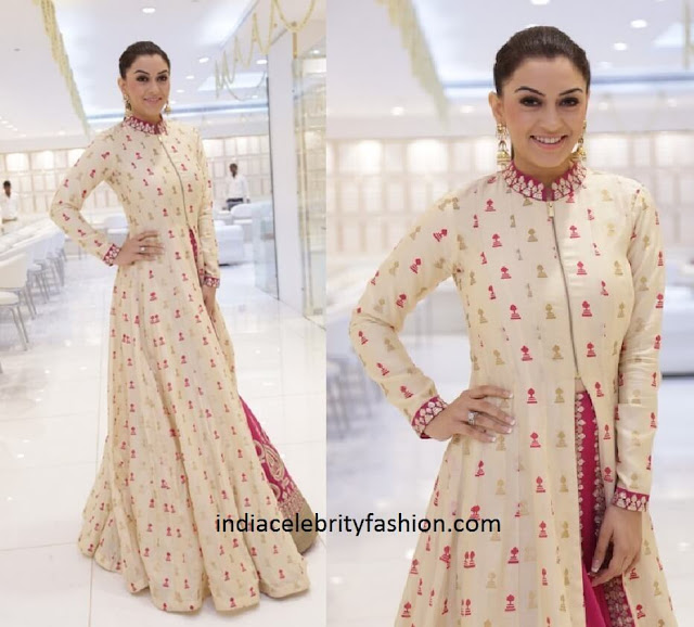 Hansika Motwani in SVA Couture