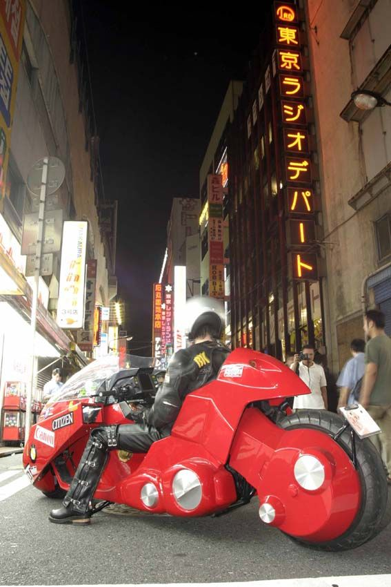 Kaneda Bike full size replica - Photographer Unknown