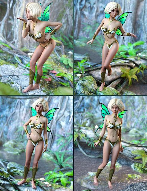 DA Fairy Poses for Mika 7