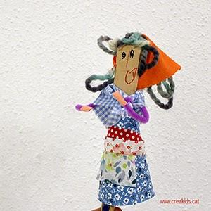 Fiesta: marioneta castañera