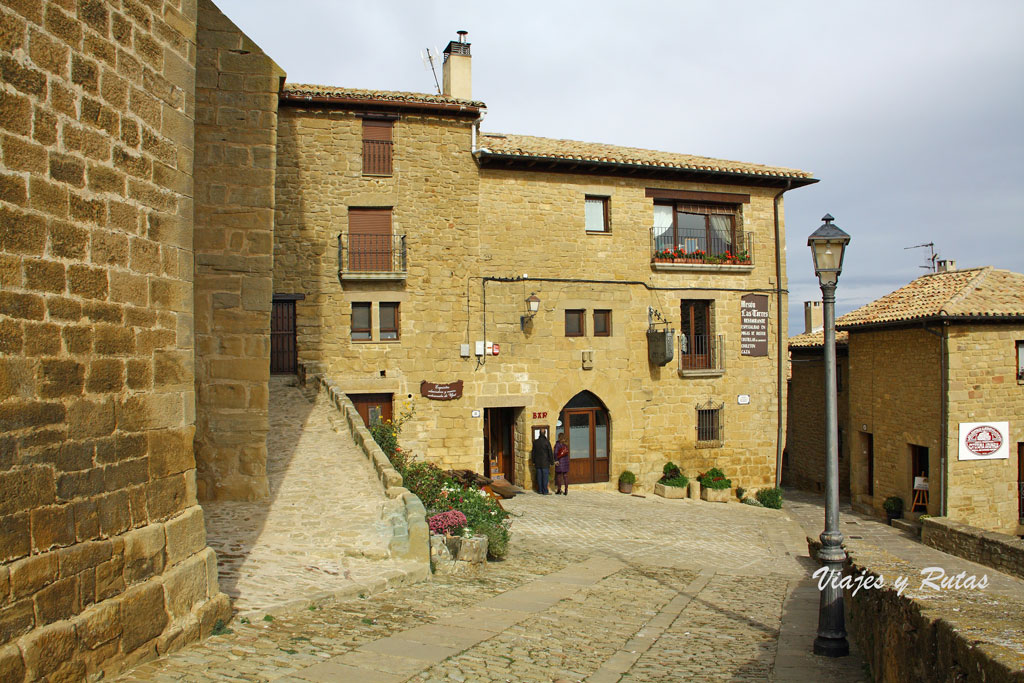 Villa medieval de Ujué, Navarra