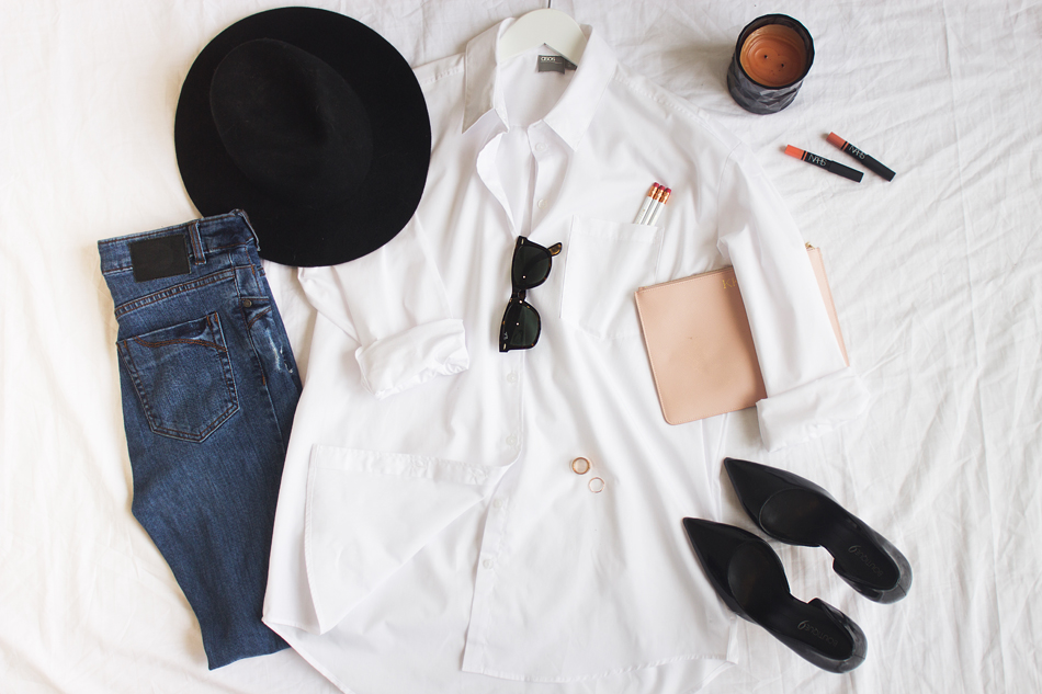 white shirt styling ideas