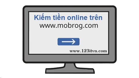 Kiếm tiền từ khảo sát trực tuyến trên mobrog