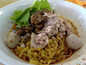 Image: Bah Chor Mee to increase Fertility