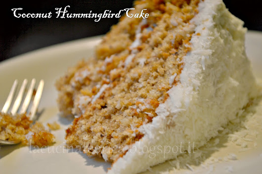 Coconut Hummingbird Cake