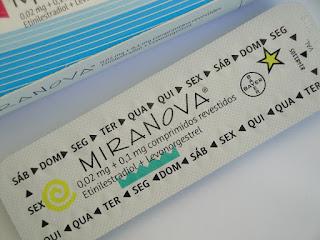 Esquecimentos e atrasos da pílula miranova®
