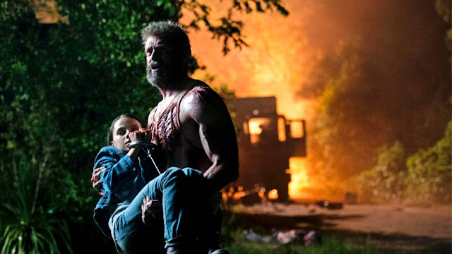 Wolverine salvando X -23