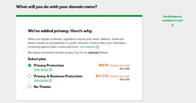 Connect Godaddy Domain With Blogger in 2018