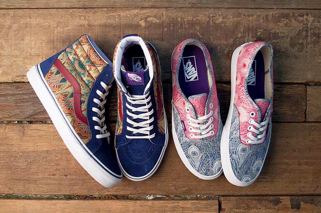 3fb71cea38 VANS x LIBERTY LONDON COLLECTION -I-