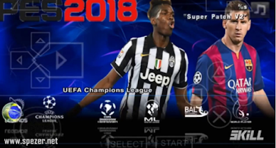 PES 2018 ISO PSP PPSSPP Android