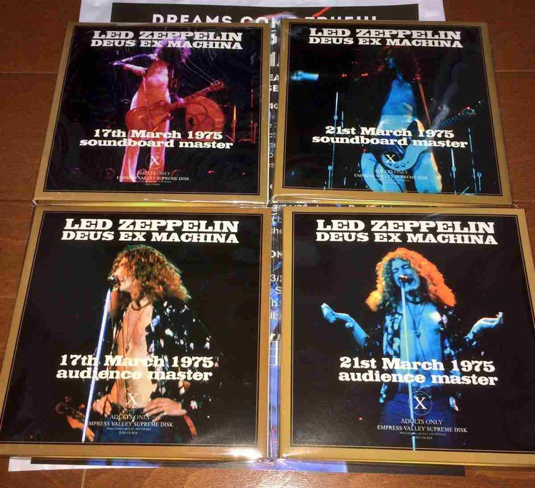 Led Zeppelin Bootlegs: Led Zeppelin - Deus Ex Machina (1975