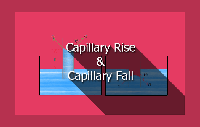 What Is Capillary Action? Expression for Capillary Rise/ Fall?